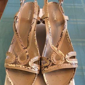 Geox Snake Skin Sandal Shoes